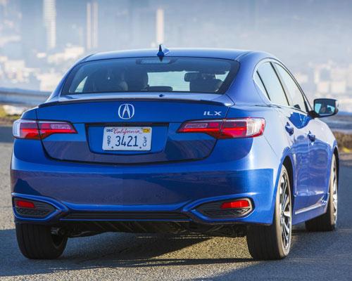 2017-Acura-ILX-back