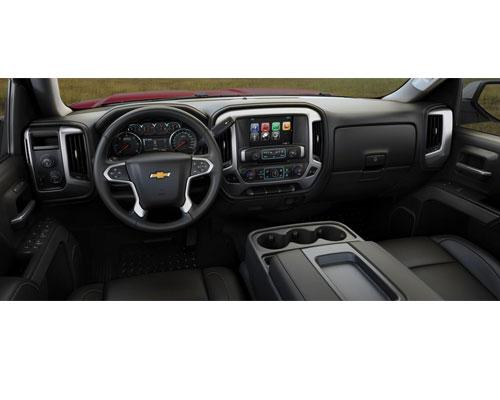 2017-Chevy-Silverado-interior