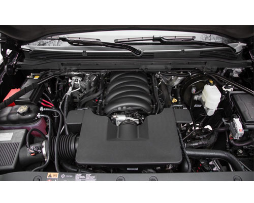 2017-GMC-Sierra-engine