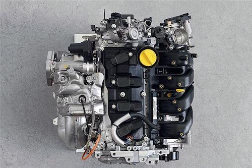 2018 Alpine A110 engine
