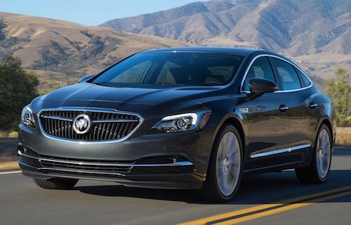 2018 Buick Lacrosse featured image
