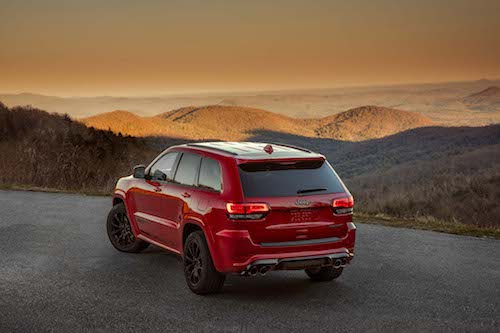 2018 Jeep Grand Cherokee back