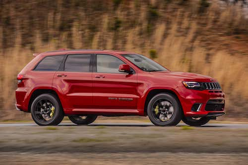 2018 Jeep Grand Cherokee side