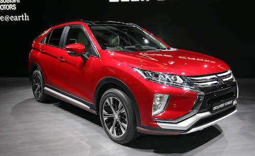 2018 Mitsubishi Eclipse Cross front