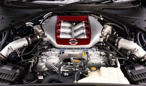 2018 Nissan GT-R engine