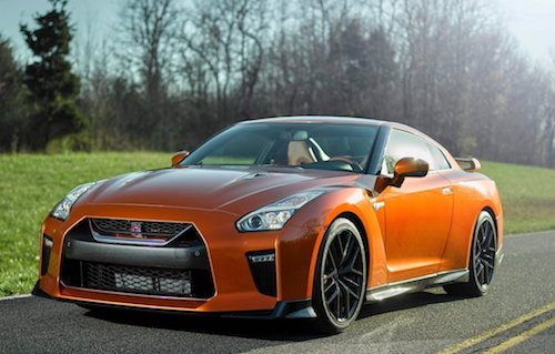 2018 Nissan GT-R front