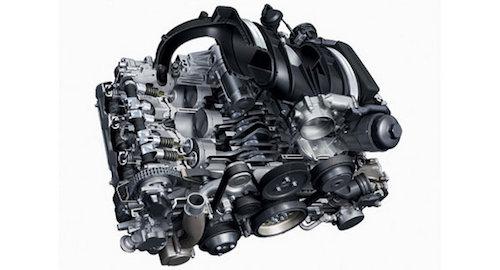 2018 Porsche 911GT3 engine