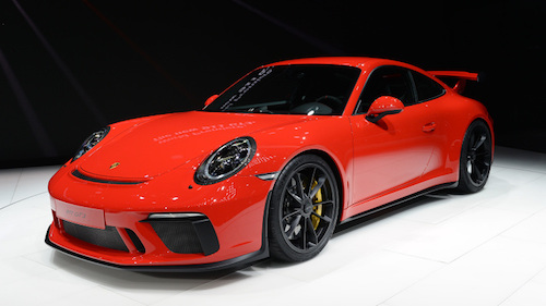2018 Porsche 911 GT3 featured image