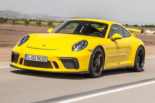 2018 Porsche 911GT3 front