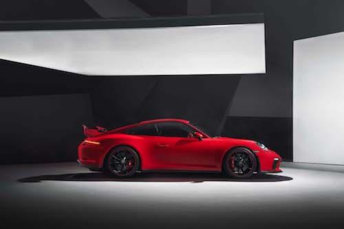 2018 Porsche 911GT3 side