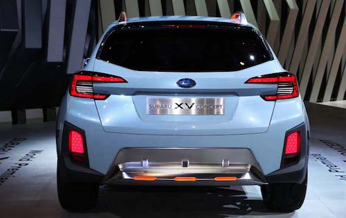 2018 Subaru XV Crosstrek back
