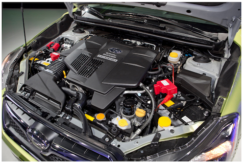 2018 Subaru XV Crosstrek engine