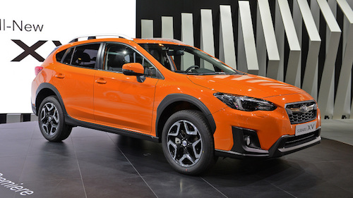 the new 2018 subaru xv crosstrek facelift. Black Bedroom Furniture Sets. Home Design Ideas
