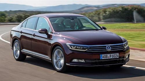2018 Volkswagen Passat front