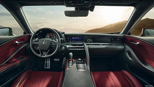 2018-Lexus-LC-500-interior