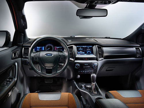 2019-Ford-Ranger-interior