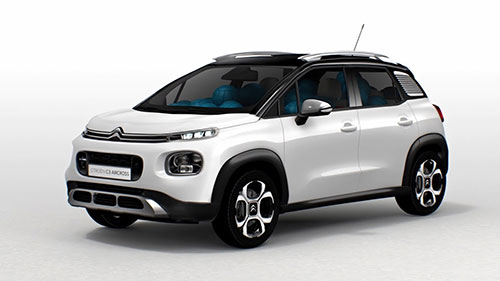 2018 citroen c3 aircross a completely customizable suv. Black Bedroom Furniture Sets. Home Design Ideas