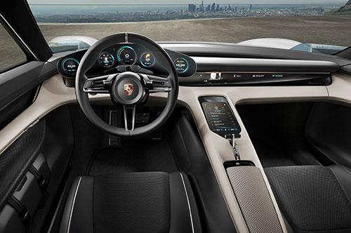 2019-Porsche-Mission-E-interior
