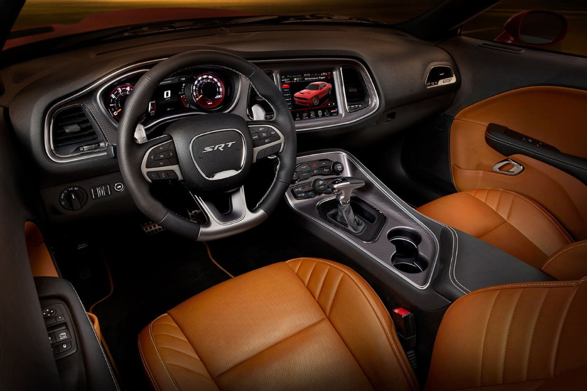 2019 Dodge Challenger Hellcat Interior Newcarsportal Com